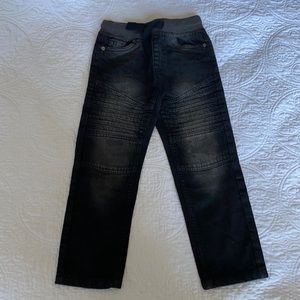 Boys Black Jeans size 5